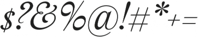 Assemblage Italic otf (400) Font OTHER CHARS