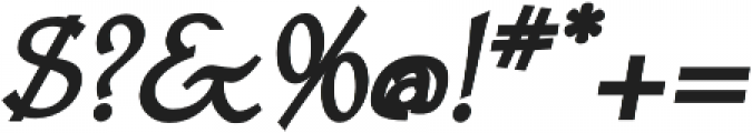 Astaire Pro Bold Italic otf (700) Font OTHER CHARS