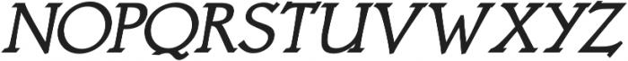 Astaire Pro Bold Italic otf (700) Font UPPERCASE
