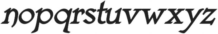 Astaire Pro Bold Italic otf (700) Font LOWERCASE