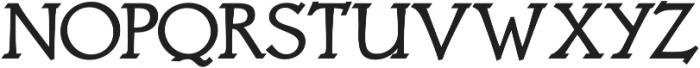 Astaire Pro Bold otf (700) Font UPPERCASE