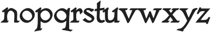 Astaire Pro Bold otf (700) Font LOWERCASE