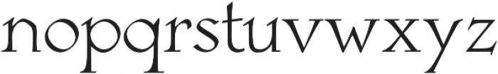 Astaire Pro Regular otf (400) Font LOWERCASE