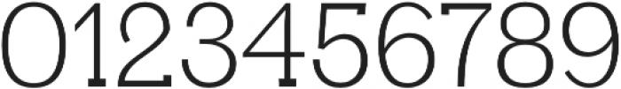 Aster Light otf (300) Font OTHER CHARS