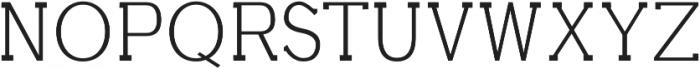 Aster Light otf (300) Font UPPERCASE