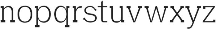 Aster Light otf (300) Font LOWERCASE