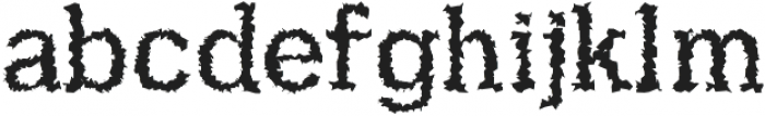 Aster SemiLight Distorted ttf (300) Font LOWERCASE