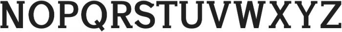 Aster otf (700) Font UPPERCASE