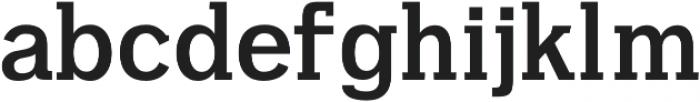 Aster otf (700) Font LOWERCASE