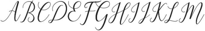 Astereiska Script Regular otf (400) Font UPPERCASE