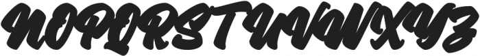 Asterik Outline otf (400) Font UPPERCASE