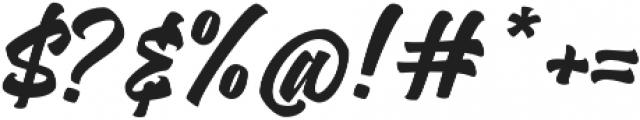 Asterik Regular otf (400) Font OTHER CHARS