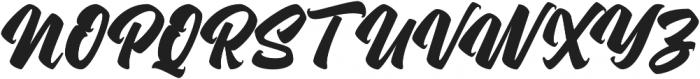 Asterik Regular otf (400) Font UPPERCASE