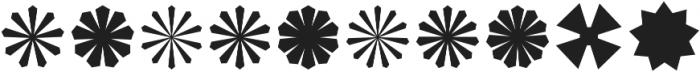 Asterisp Beta otf (400) Font OTHER CHARS