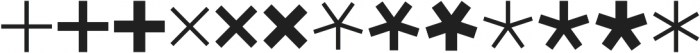 Asterisp Beta otf (400) Font UPPERCASE