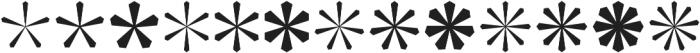 Asterisp Beta otf (400) Font LOWERCASE