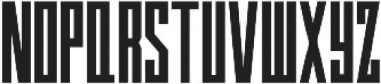 Aston otf (700) Font LOWERCASE