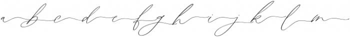 Astoria Script Right Swashes Al otf (400) Font LOWERCASE