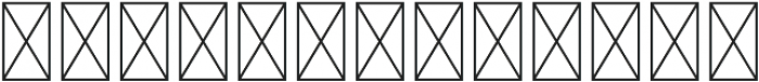 Astrological Symbols Dingbat otf (400) Font LOWERCASE