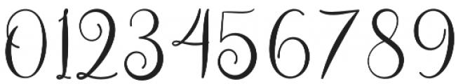 Asyiela otf (400) Font OTHER CHARS