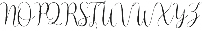 Asyiela otf (400) Font UPPERCASE