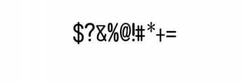 ASAKE-light.ttf Font OTHER CHARS