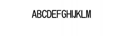 ASAKE-light.ttf Font UPPERCASE