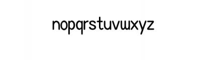 ASAKE-light.ttf Font LOWERCASE