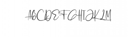 Ashcroft Alt.otf Font UPPERCASE