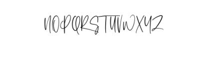 Ashcroft.ttf Font UPPERCASE