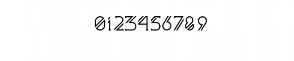 Astrobia Bold.ttf Font OTHER CHARS