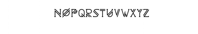 Astrobia Bold.ttf Font UPPERCASE