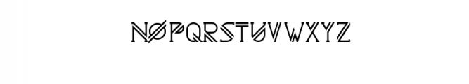 Astrobia Bold.ttf Font LOWERCASE