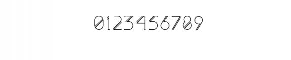 Astrobia Regular.ttf Font OTHER CHARS