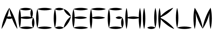 AS Bascalc Medium Font UPPERCASE