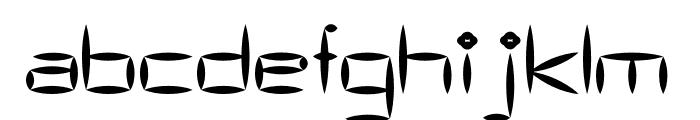AS Bascalc Medium Font LOWERCASE