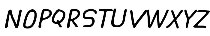 ASCOTA Italic Font UPPERCASE