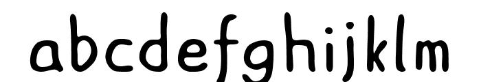 ASCOTA Font LOWERCASE
