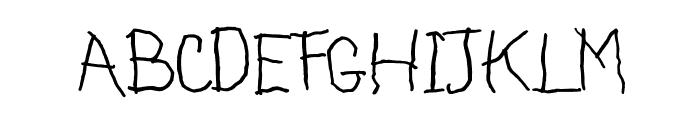 ASILUM Font UPPERCASE