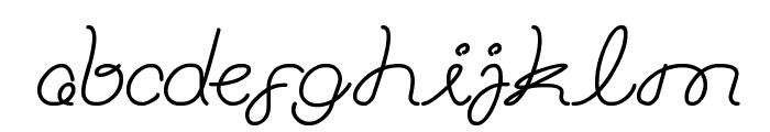 ASTONISHING Font LOWERCASE