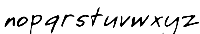 Asa Regular Font LOWERCASE