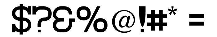 Asakura Slab Font OTHER CHARS