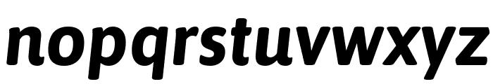 Asap Bold Italic Font LOWERCASE