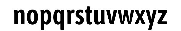 Asap Condensed SemiBold Font LOWERCASE