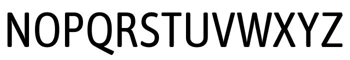 Asap Condensed VF Beta Regular Font UPPERCASE