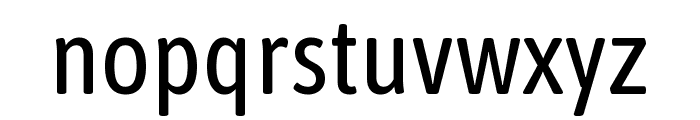 Asap Condensed VF Beta Regular Font LOWERCASE