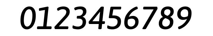 Asap Medium Italic Font OTHER CHARS