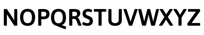Asap SemiBold Font UPPERCASE