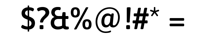 Asap Symbol Font OTHER CHARS