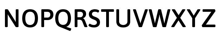 Asap Symbol Font UPPERCASE